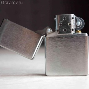 ZIPPO 230-25 Vintage Series 1937, с покрытием Brushed Chrome
